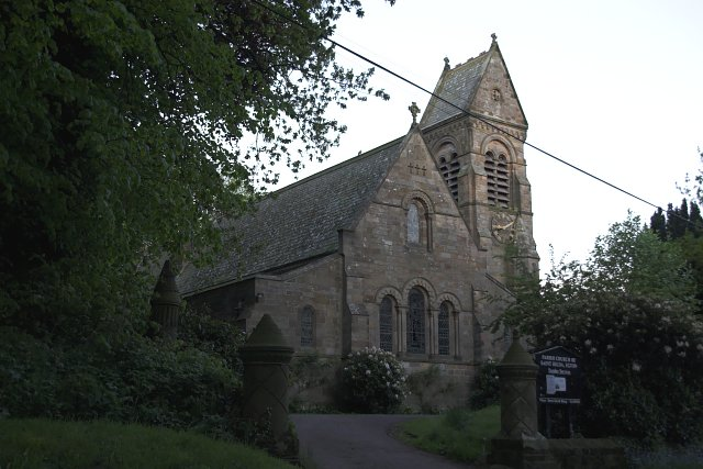 St Hilda's church at Egton