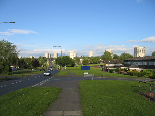 View east from Bells Lane