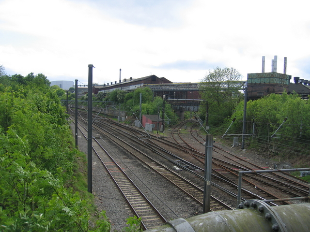 Former junction for Halesowen