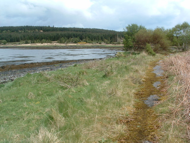 Old road at Fishnish bay