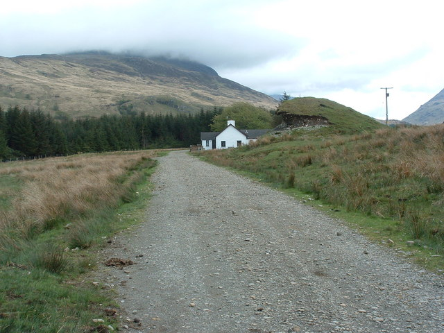 The house at Kilbeg