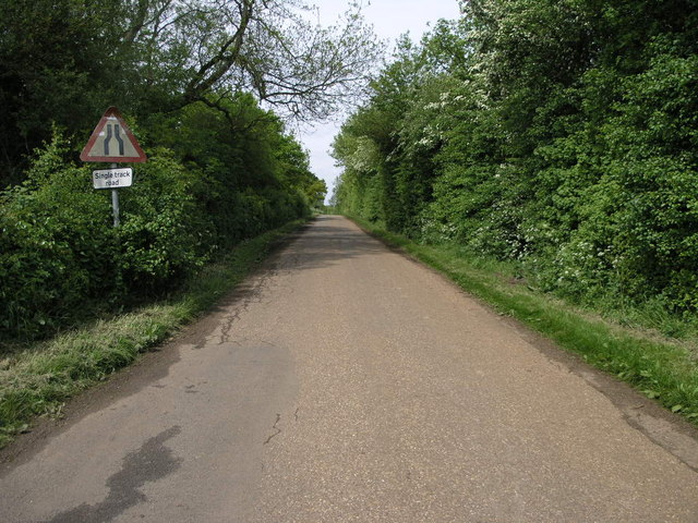 Road to Thorpe Underwood