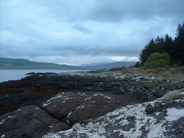 Rocks at Fishnish Point