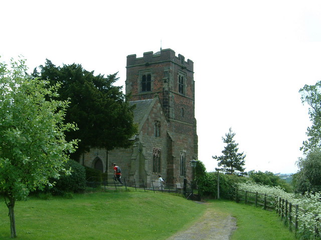 The Parish Church of St Leonard, Wychnor, Staffs.