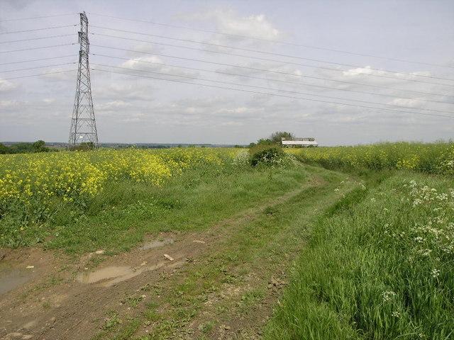 Pylon and Barn