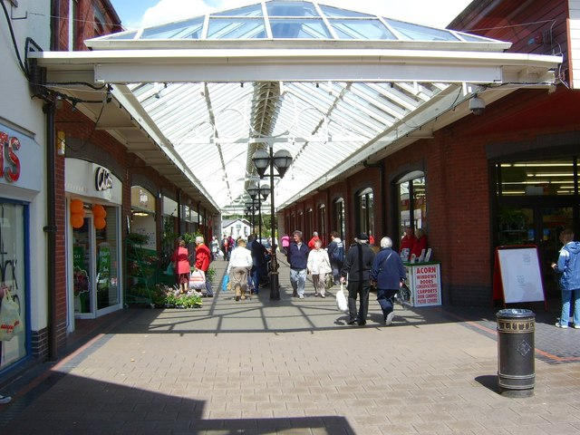 Shopping centre, Abergavenny