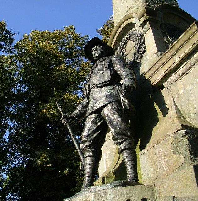 South African War Memorial, Canterbury