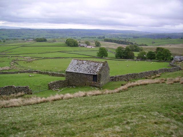 Barn above Carhullan Farm