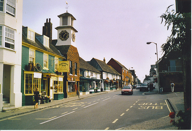 Steyning High Street, Looking South-east.
