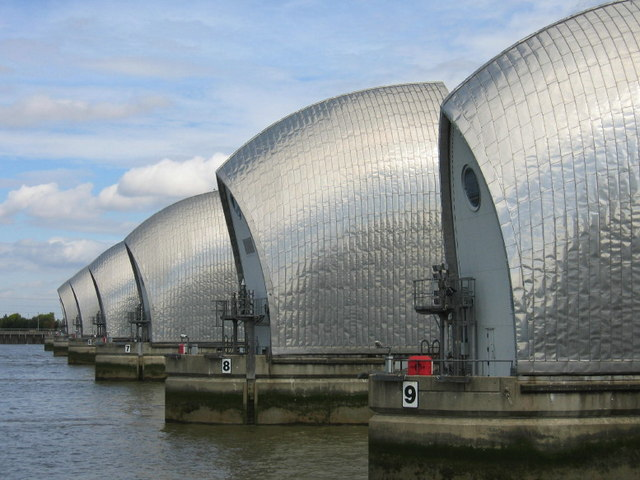 Thames Barrier, Woolwich
