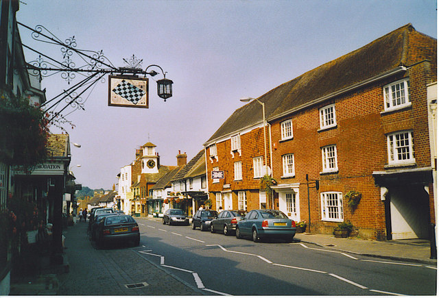 Steyning High Street, Looking North-west.