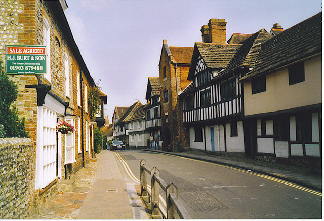 Steyning, Church Street, Looking North.