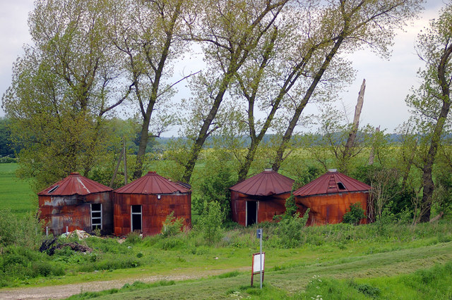Corrugated Iron Trulli