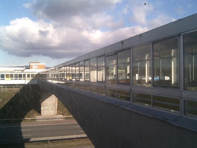 Bridge Over The M6, Forton Services