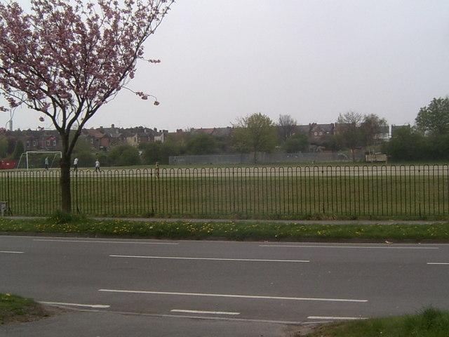 Running Track, Valley Road, Worksop