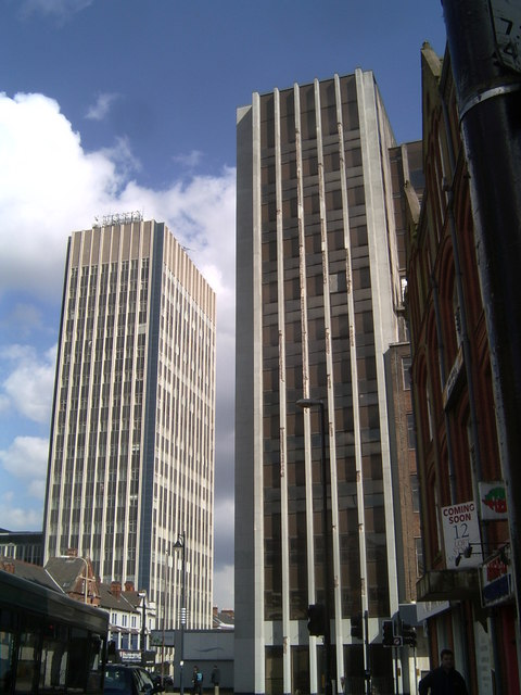 The 'Twin Towers' of Humberstone Gate
