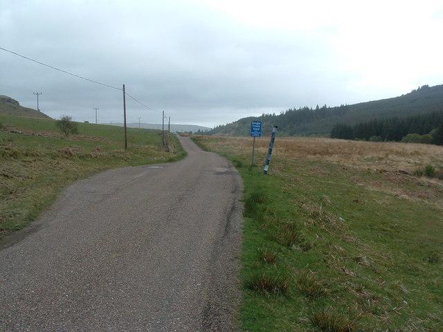 Glen Aros road