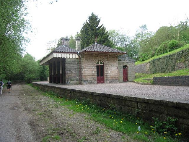 Ex -Railway Station at Alton