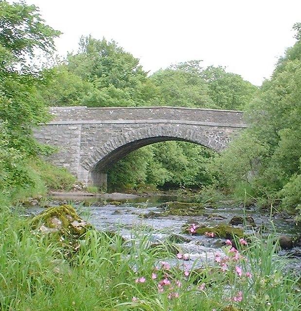Glenlair Bridge over the River Urr