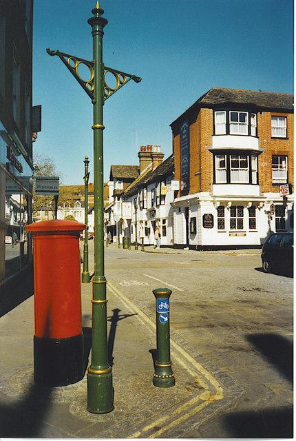 By The Carfax, Horsham.