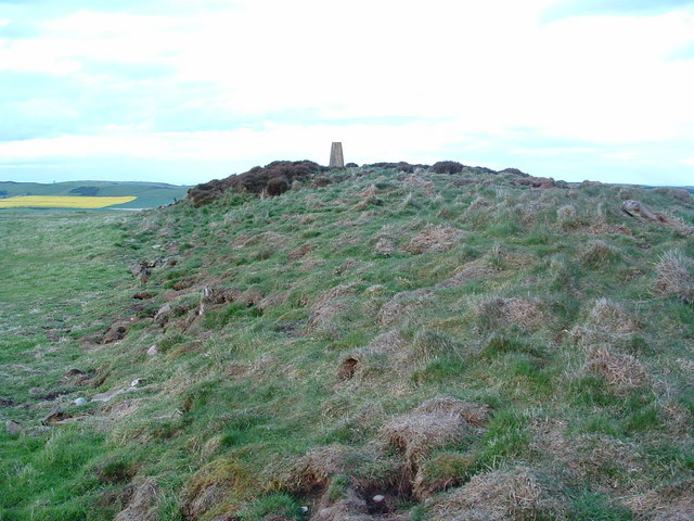 Long Cairn and Trig Point