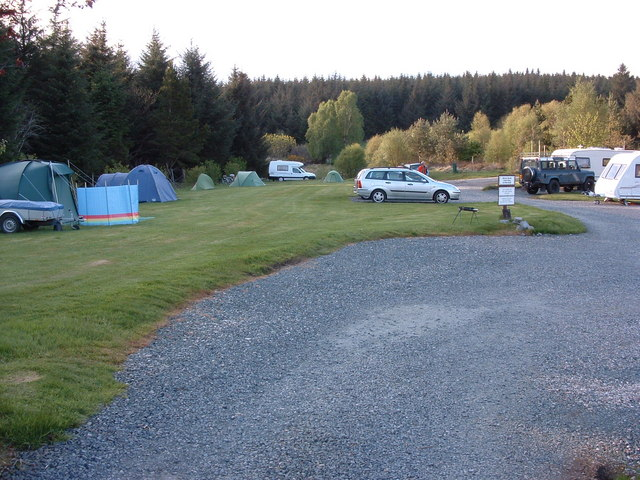 Campsite at Balmeanach