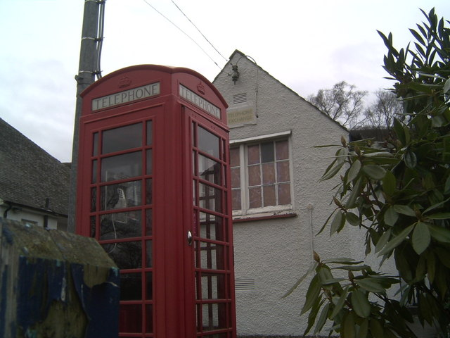 Port Of Menteith Telephone Exchange and Kiosk