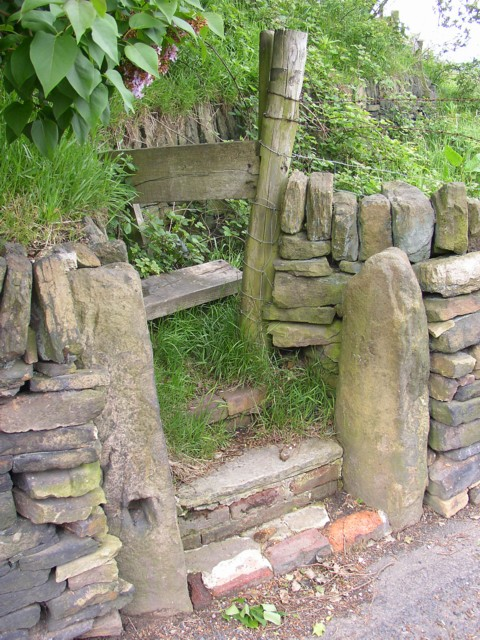 Stile, Old Lindley Road, Old Lindley
