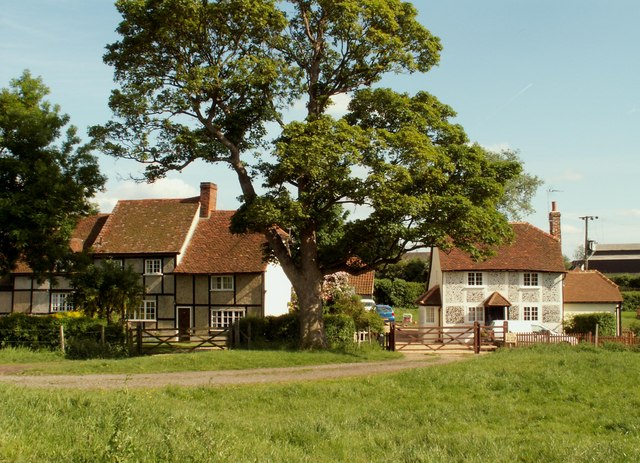 Cottages at Woodside Green, Essex