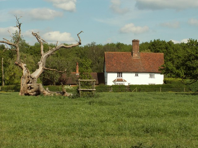 Woodfold cottage at Woodside Green, Essex