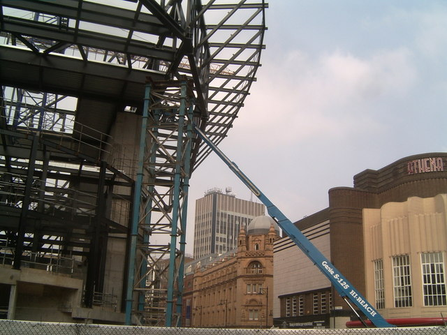 Work in Progress of New Theatre, St Georges