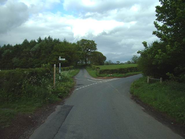 Junction, on the Great Strickland to Morland road