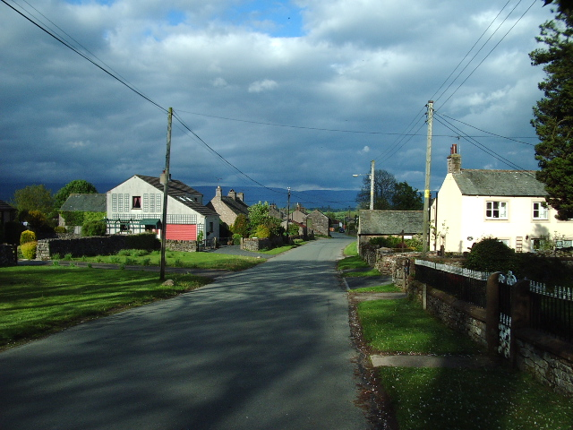 Main road through Newby