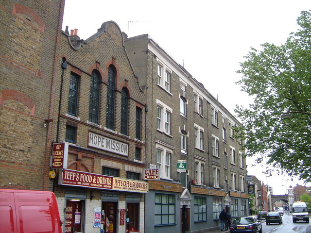 Webber Street east of Blackfriars Road