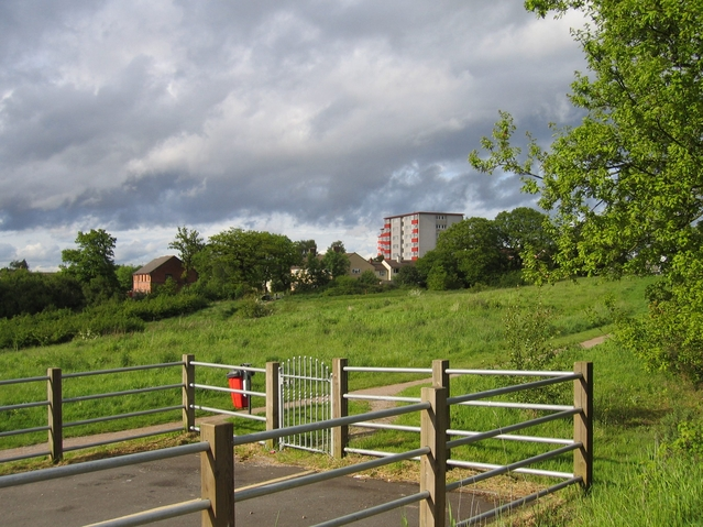 View towards Walker's Heath