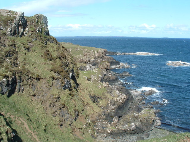 Cliffs NW of Lagg