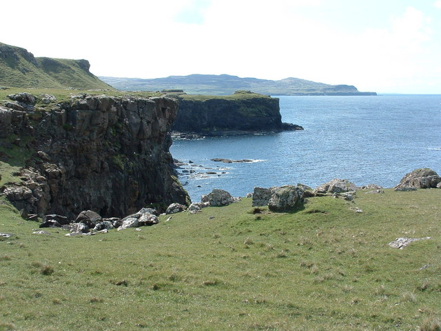 The west side of Caliach point