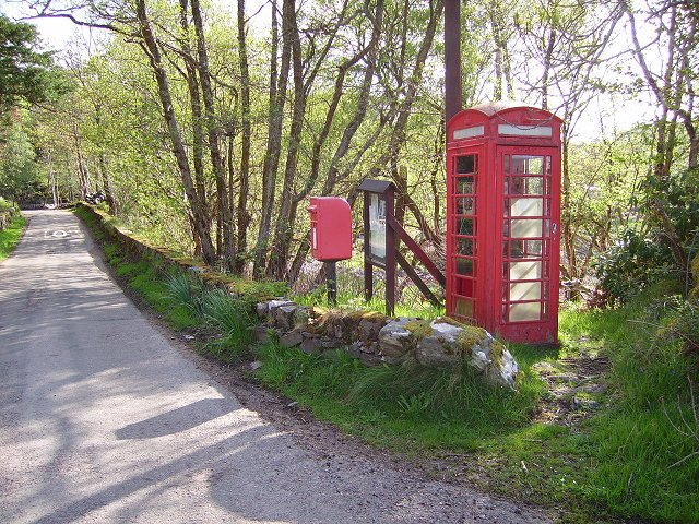 Phonebox, Glenborrodale