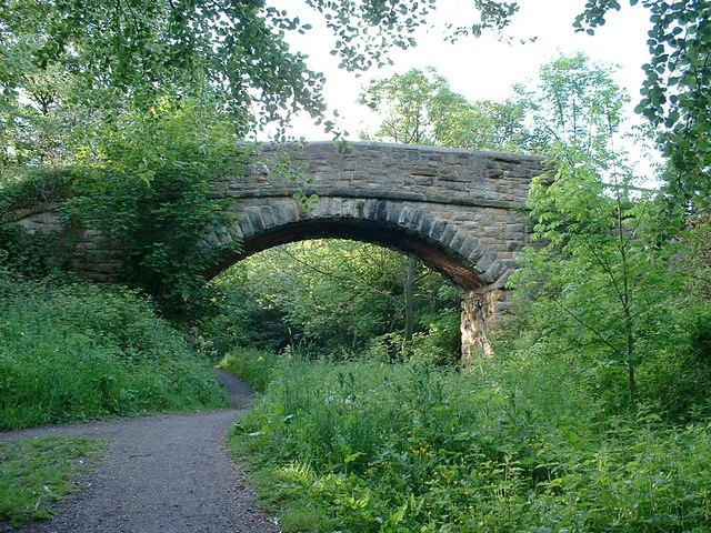 The Old Stone Bridge in Early Spring