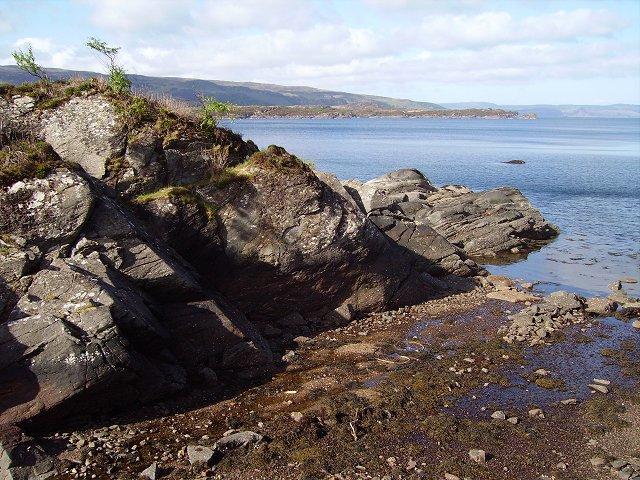 Shoreline, Loch Sunart