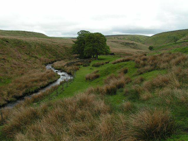 Dane valley below Holt
