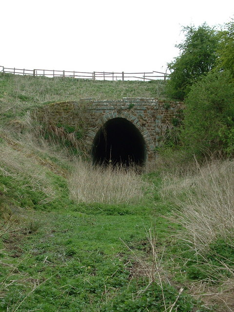 The eastern entrance to Benniworth tunnel