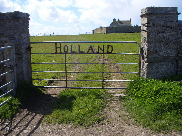 Gate to Holland Farm