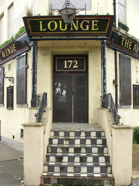 Entrance to the Lounge