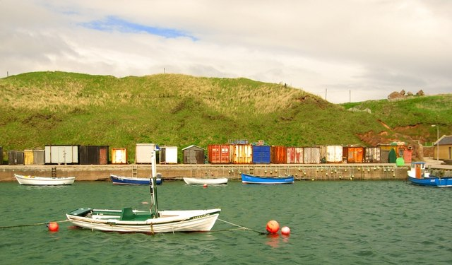 Port Errol harbour, Cruden Bay