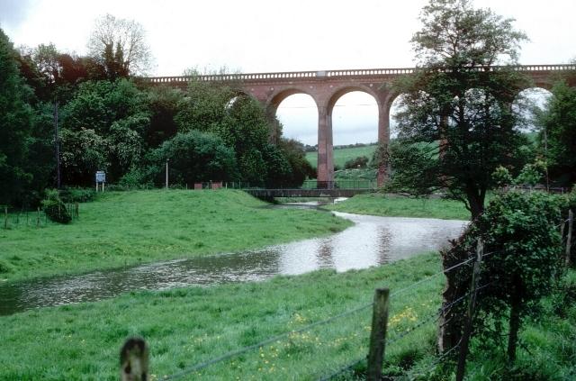 Railway viaduct near Eynsford