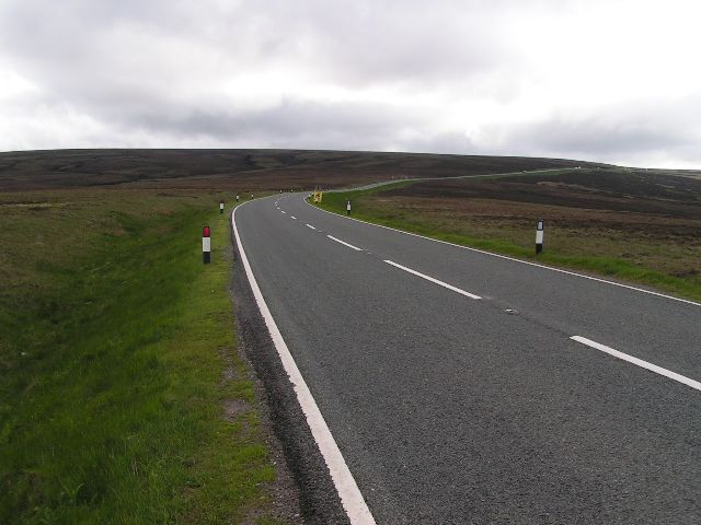 A537 Cat and Fiddle Road