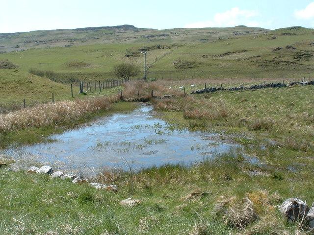Poor drainage Langamull farm