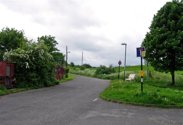 No Entry signs bar entry to the Lambton Estate