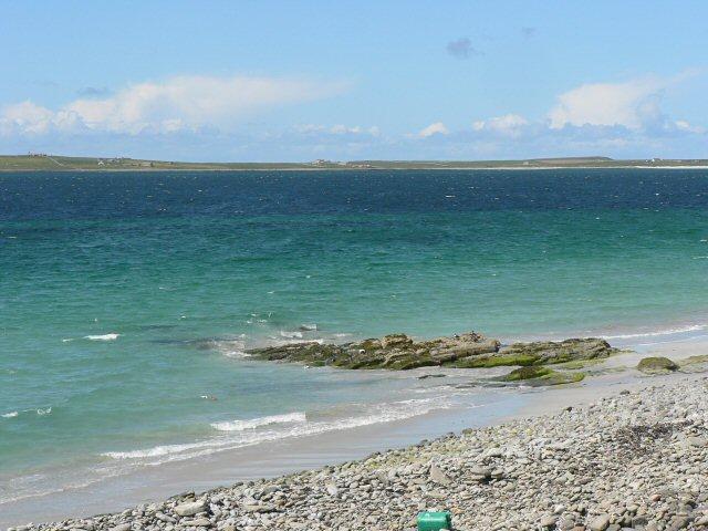 Papa Westray beach